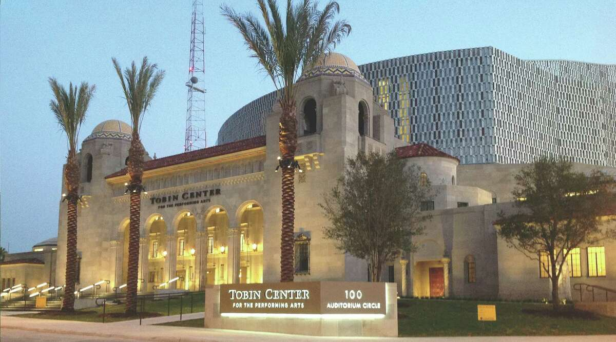 The Tobin Center for the Performing Arts opens with a 10: 30 a.m. dedication ceremony Sept. 4 at the site of the former Municipal Auditorium downtown.
