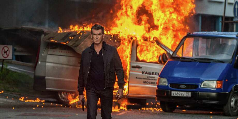 "This image released by Relativity Media shows Pierce Brosnan in a scene from the film, ""The November Man."" (AP Photo/Relativity Media, Aleksandar Letic) ORG XMIT: NYET711 Photo: Aleksandar Letic / Relativity Media"