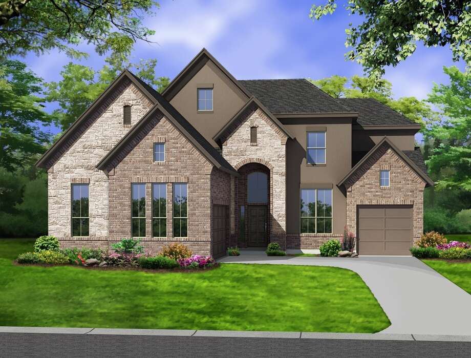 The 3,595-square-foot San Germain design is one of two model homes Newmark plans for Shadow Ridge, a 22-acre neighborhood that will open in September. Photo: Newmark Homes
