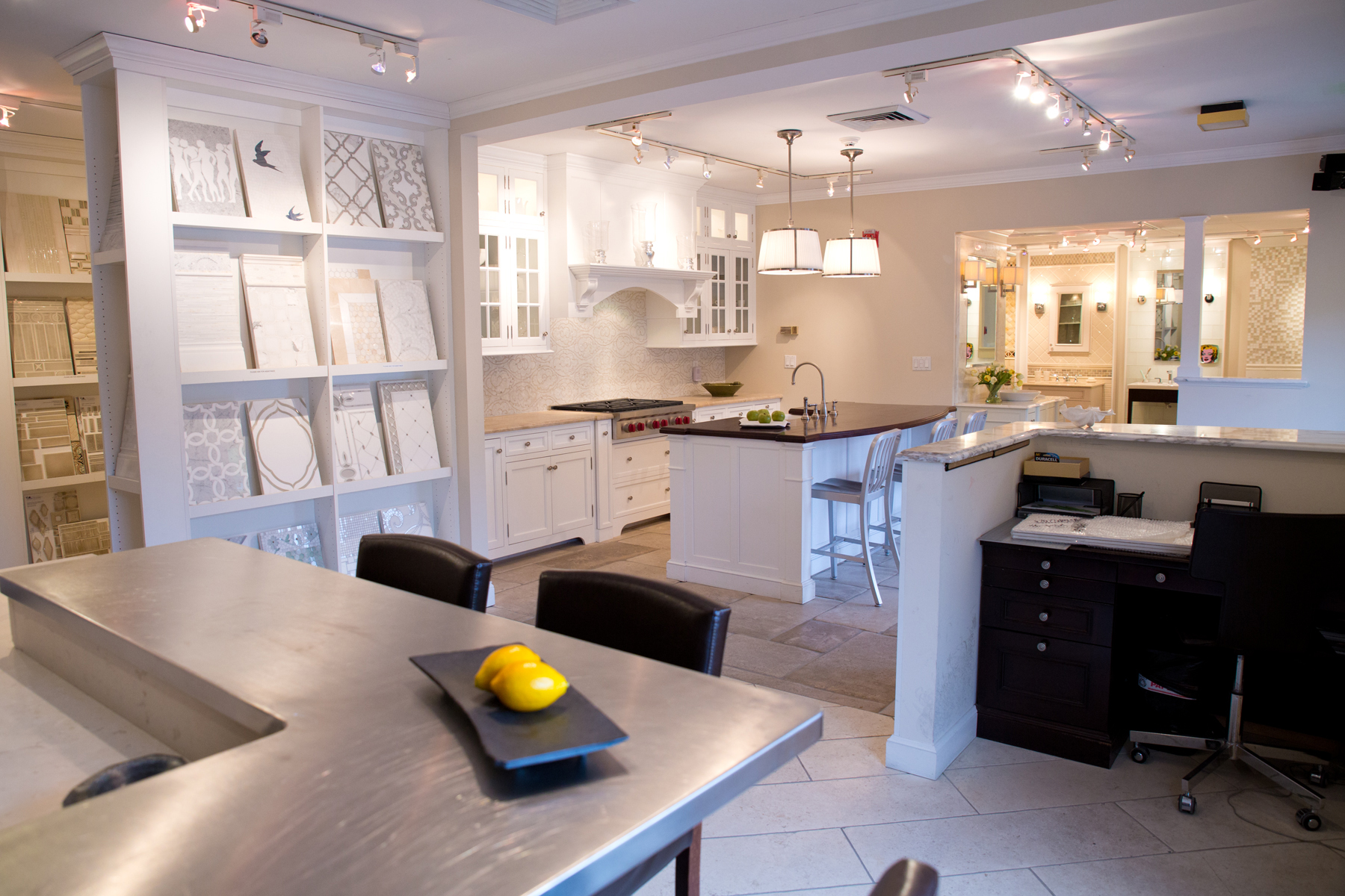 Tile, cabinetry store expands to full kitchen, bath design ...