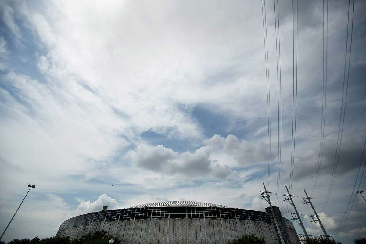 The Astrodome before Harris County Harris County Judge Ed Emmett unveiled his plan for the Astrodome, to make it
