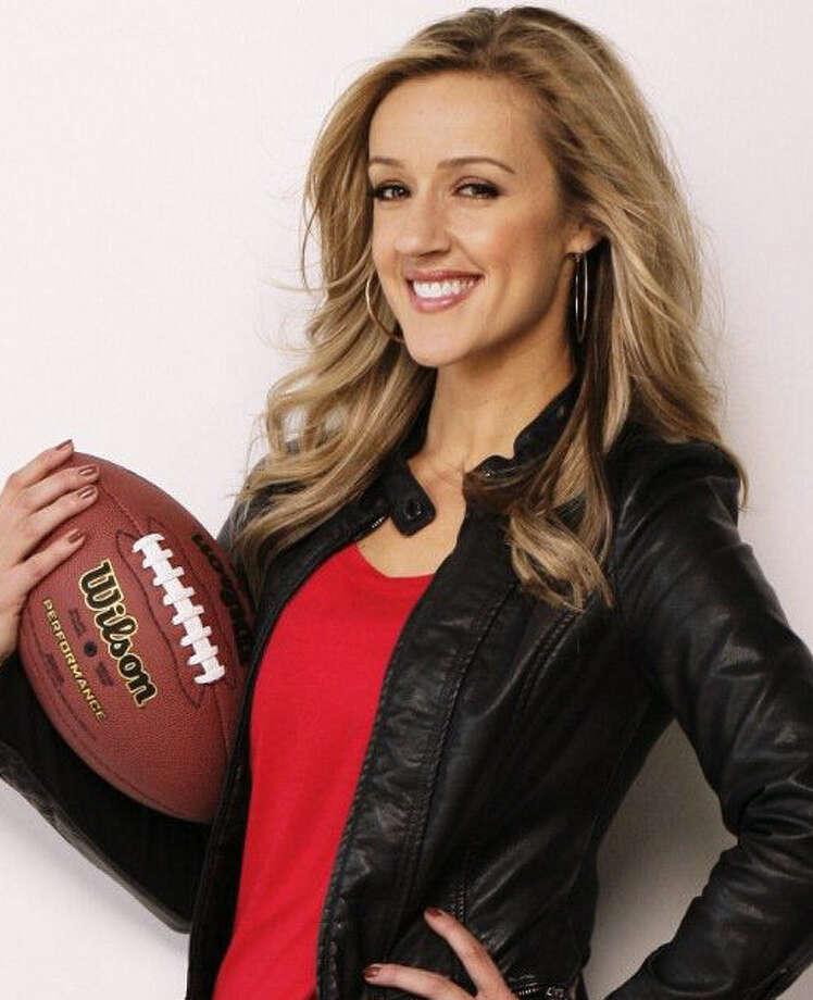 Megan Alexander is adding CBS football duties to her correspondent work. Photo: Courtesy Photo / San Antonio Express-News