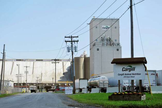 A view of the Cargill grain elevator at the Port of Albany on Tuesday, Aug. 26, 2014, in Albany, N.Y.  (Paul Buckowski / Times Union) Photo: Paul Buckowski / 00028346A