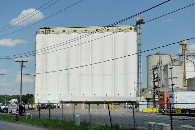 A view of the Ardent Mills grain elevator at the Port of Albany on Tuesday, Aug. 26, 2014, in Albany, N.Y.  (Paul Buckowski / Times Union) Photo: Paul Buckowski / 00028346A