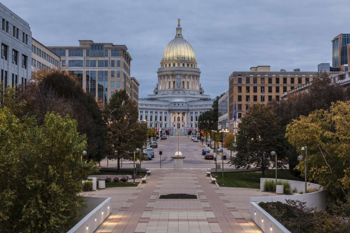 19. Madison, Wisc. Job market: 50Socioeconomic environment: 4