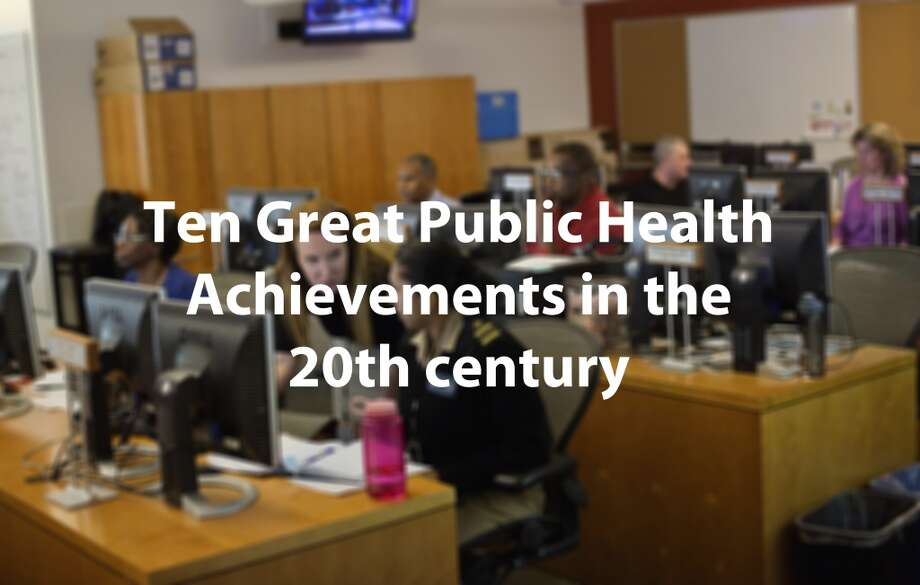 According to the U.S. Centers for Disease Control and Prevention officials, public health has helped extend the life span of Americans by 25 years this century. The CDC has taken a look back in the nation's history to highlight the best things that have happened to Americans and their overall health. Photo: David Goldman, Associated Press