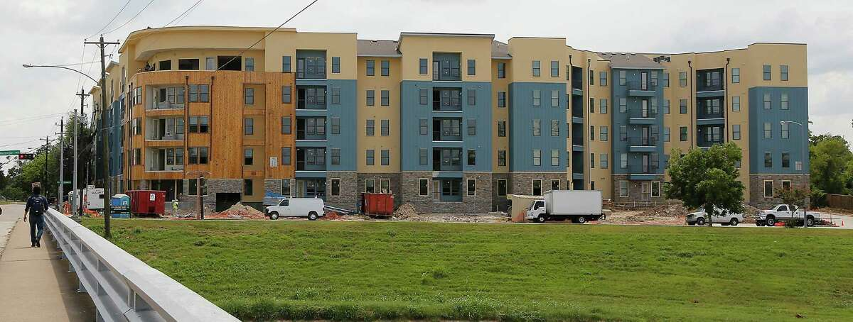 The Vue at MacGregor, a multifamily complex marketed toward University of Houston students, was slated to open in fall 2014 in time for the start of school at the University of Houston. ( James Nielsen / Houston Chronicle )
