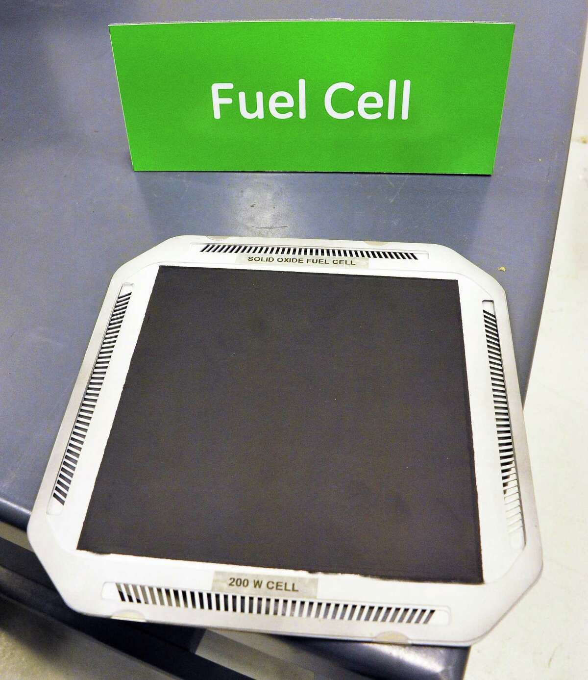 A furl cell at GE's new fuel cell facility Tuesday August 26, 2014, in Malta, NY. (John Carl D'Annibale / Times Union)