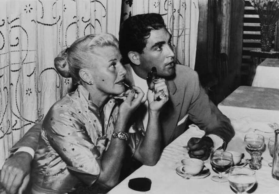 Ginger Rogers And Jacques Bergerac Dining In Venice Film Festival On August 30Th 1952  (Photo by Keystone-France/Gamma-Keystone via Getty Images) Photo: Keystone-France, Gamma-Keystone Via Getty Images / 1952 Keystone-France