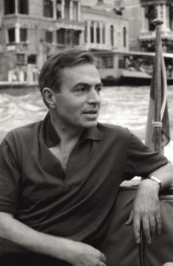 The actor James Mason on boat, in the course of the 17th Venice Intenational Film Festival. Venice (Italy), 1956. (Photo by Emilio Ronchini/Mondadori Portfolio via Getty Images) Photo: Mondadori, Mondadori Via Getty Images / Mondadori