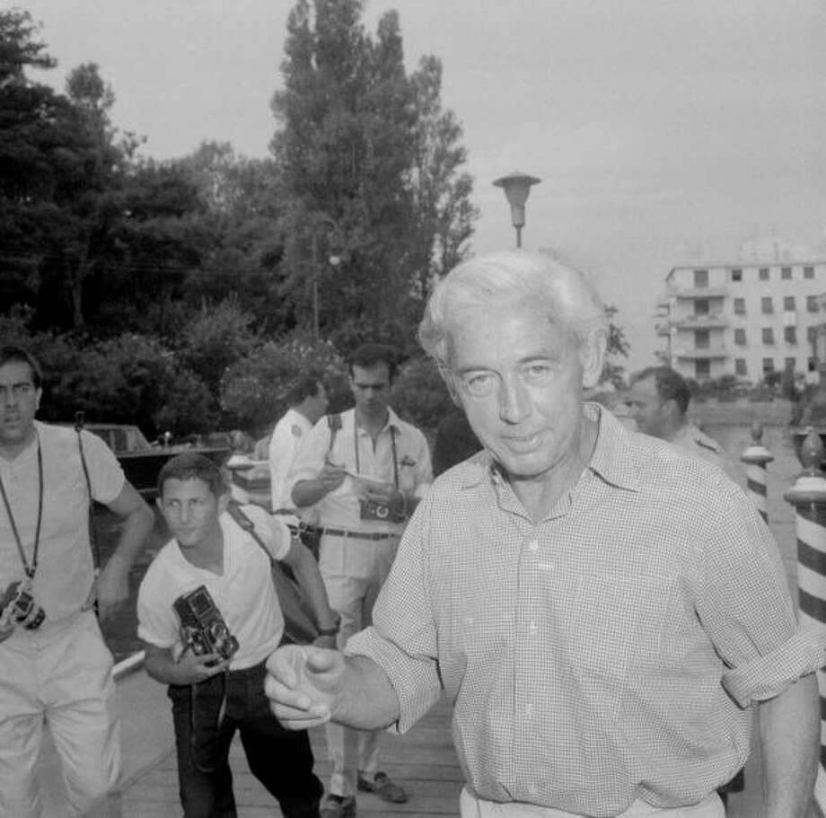French film director Robert Bresson arrives 1966 in Venice for the film festival. Photo: AFP, AFP/Getty Images