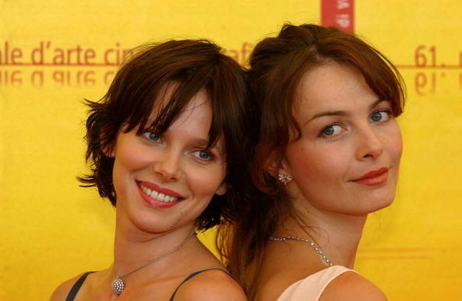 "Photo call of ""Ovunque Sei"" In Venice, Italy On September 06, 2004. Barbora Bobuluva and Violante Placido are two of the best actresses working in Italy. Photo: Pool CATARINA/VANDEVILLE, Gamma-Rapho Via Getty Images"