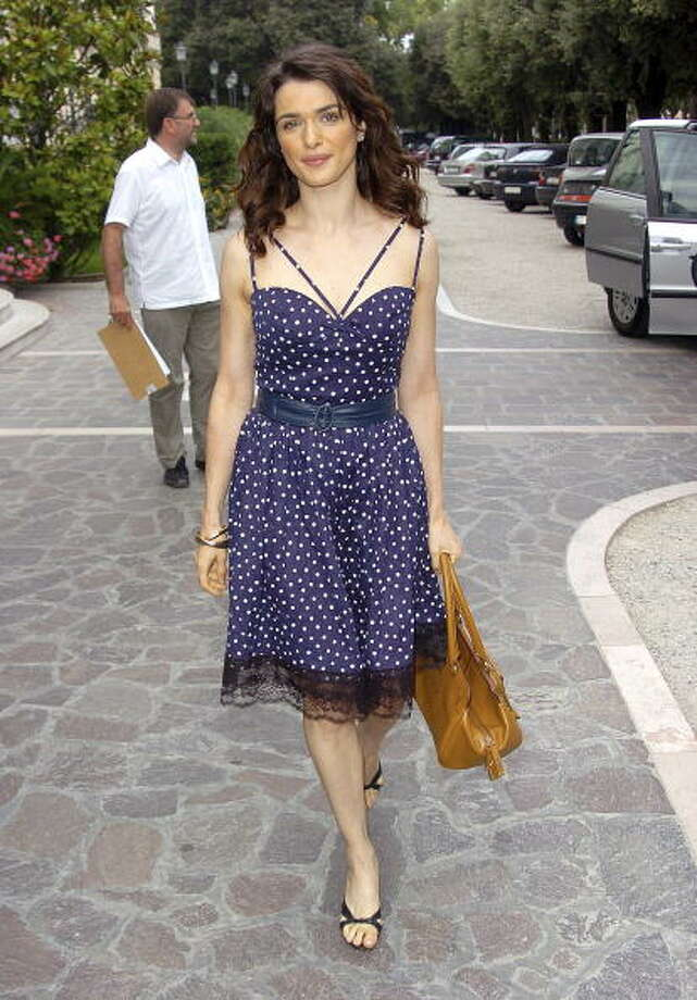 Rachel Weisz at the 2005 Venice Film Festival Outside the Des Bains Hotel - September 8, 2005. Photo: Niki Nikolova, FilmMagic / FilmMagic