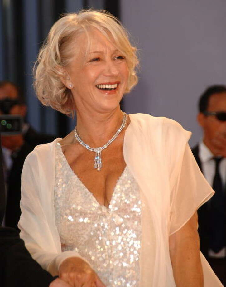 "Helen Mirren during the 2006 festivalo, where ""The Queen"" was the talk of the town. Photo: George Pimentel, WireImage / WireImage"