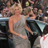 Actress Charlize Theron attends The Burning Plain premiere held at the Sala Grande during the 65th Venice Film Festival on August 29, 2008 in Venice, Italy.