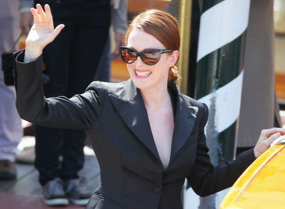 Julianne Moore on September 11, 2009 in Venice, Italy. Photo: Gareth Cattermole, Getty Images / 2009 Getty Images