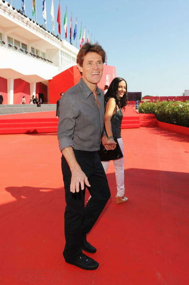 "Actor Willem Dafoe and director Giada Colagrande attend the ""A Woman - Bassa Marea"" premiere at the Palazzo del Casino during the 67th  Venice International Film Festival on September 4, 2010 in Venice, Italy. Photo: Venturelli, WireImage"
