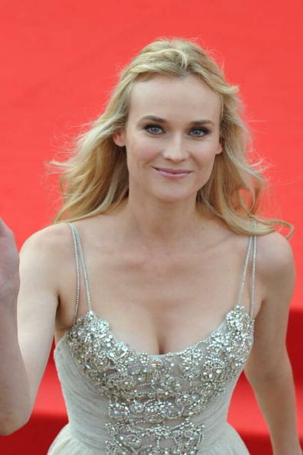 "Diane Kruger arrives for the opening ceremony and the screening of ""The Ides of March"" during the 68th Venice International Film Festival on August 31 , 2011. Photo: ALBERTO PIZZOLI, AFP/Getty Images / 2011 AFP"
