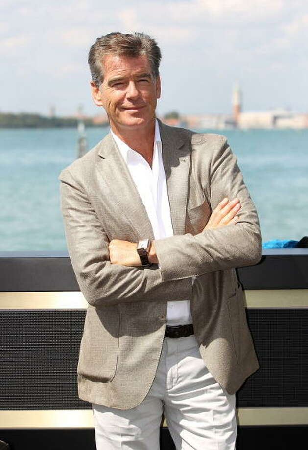 Pierce Brosnan on September 2, 2012. Photo: Danny Martindale, WireImage