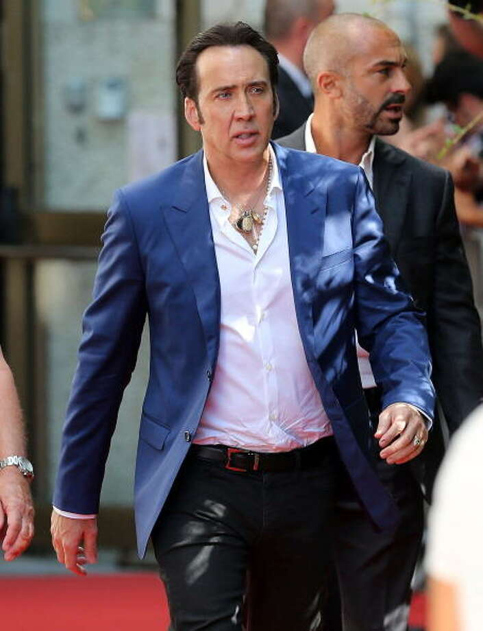 Nicolas Cage attends day 3 of the 70th Venice International Film Festival on August 30, 2013 in Venice, Italy.  (Photo by Danny Martindale/FilmMagic) Photo: Danny Martindale, FilmMagic / 2013 Danny Martindale