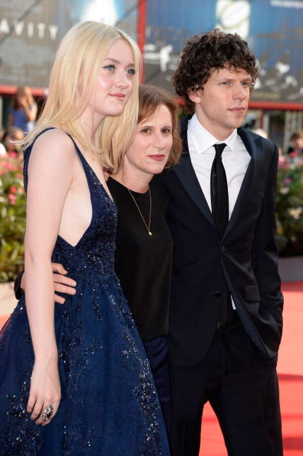 Dakota Fanning, director Kelly Reichardt and actor Jesse Eisenberg attend 'Night Moves' Premiere during the 70th Venice International Film Festival at the Palazzo del Cinema on August 31, 2013 in Venice, Italy.  (Photo by Pascal Le Segretain/Getty Images) Photo: Pascal Le Segretain, Getty Images / 2013 Getty Images
