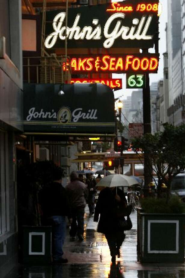 John's Grill has been on Ellis Street for more than a century, serving classic San Francisco specialties.