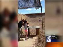 An instructor at an outdoor shooting range in Arizona was fatally shot in the head by a 9-year-old girl who was learning to use a firearm, authorities announced Tuesday. Micah Ohlman reports for the KTLA 5 News at 10 p.m. on Tuesday, Aug. 26, 2014.
