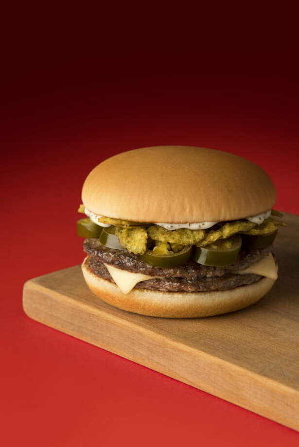 McDonald's Jalapeño Double