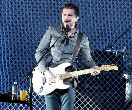 Juanes (Juan Esteban Aristizabal V squez, born August 9, 1972), is a Colombian pop-rock singer-songwriter musician who was a member of the heavy metal band Ekhymosis and is now a solo artist since 2000. Photo: Televisa / handout