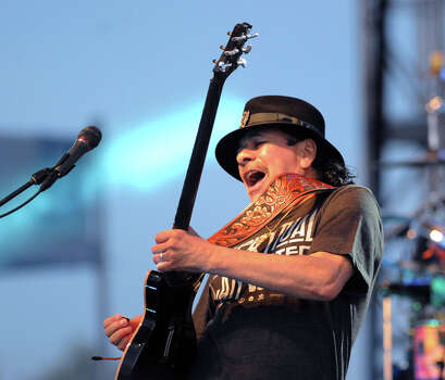 Carlos Santana will perform at the Tobin Center for the Performing Arts on Sept. 30. Photo: Bob Luckey / Greenwich Time