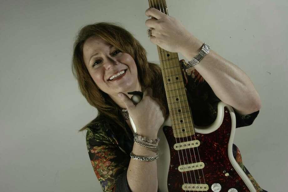 Myrna Sanders is a local rock singer. Photo: John Everett, Staff / Houston Chronicle