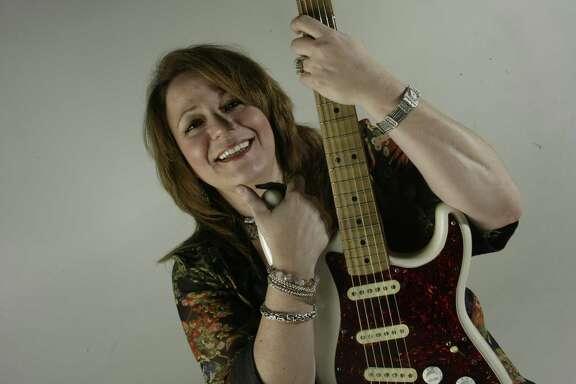Myrna Sanders is a local rock singer.