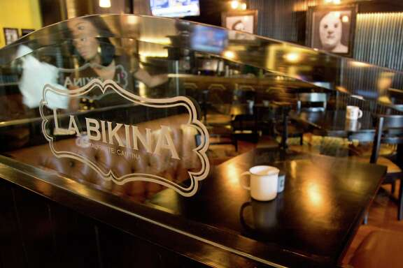 Interior of La Bikina a new Mexican food restaurant in The Woodlands, TX at 4223 Research Forest Dr. #100, Thursday August 21, 2014. (Billy Smith II /Houston Chronicle)