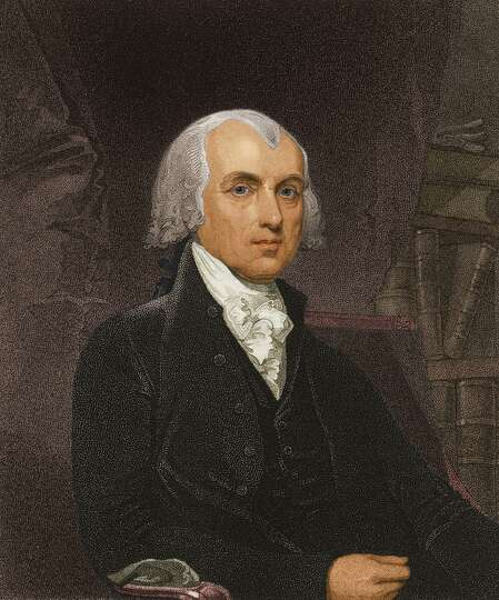President james madison who served from 1809 to 1817 he for James madison pets