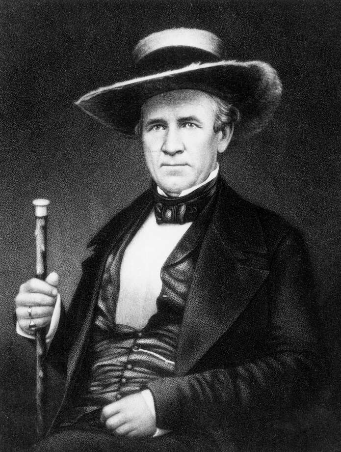 Houston Streetwas named for storied Texan Sam Houston (1793-1863), who headed the Texan army at the San Jacinto defeat of Santa Anna in the Texas Revolution, twice served as the first and third president of the Republic of Texas, represented Texas in the U.S. Senate and served as the seventh governor of Texas. Photo: Hulton Archive, Getty Images / Archive Photos