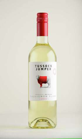 Tussock Jumper Sauvignon Blanc, 2013 New Zeland Monday May 12, 2014, at the Times Union in Colonie, N.Y. (Will Waldron/Times Union) Photo: WW