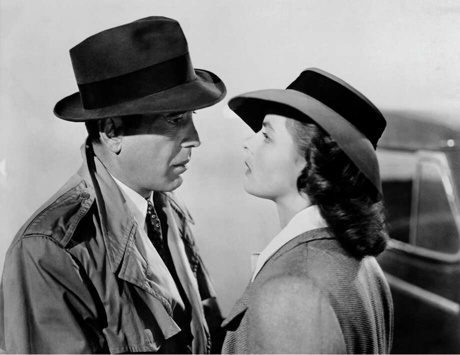 "Humphrey Bogart and Ingrid Bergman in ""Casablanca."" c. 1942 Turner Entertainment Co. All Rights Reserved.  Courtsey of Warner Home Video ORG XMIT: MER2014052712234952 / CASABLANCA"