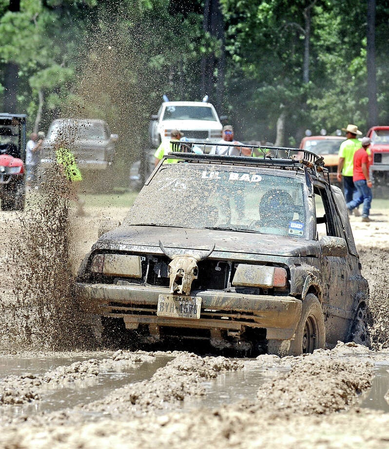The 3rd Annual Mud Farm Barbeque Cookoff was held in Sour Lake on Saturday, August 3, 2013.  The event consisted of a BBQ Cook-off and mud races in the pits. Photo taken: Randy Edwards/The Enterprise Photo: Randy Edwards, Photojournalist / Enterprise
