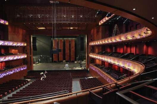Interior of the Tobin Center for the Performing Arts inside the the H-E-B Performance Hall on Tuesday, August 12, 2014. Photo: Kin Man Hui, San Antonio Express-News / ©2014 San Antonio Express-News