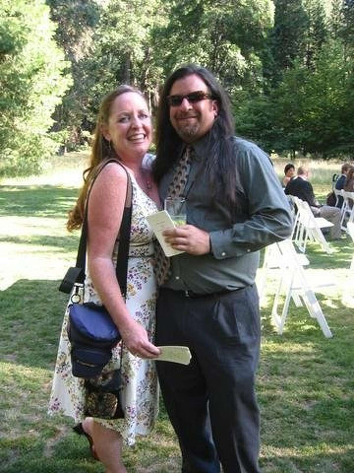 Mary Atchison was allegedly killed by her boyfriend, Jules Sibilio, (right). Atchison was found dead in her Bernal Heights home on Aug. 26, 2014.