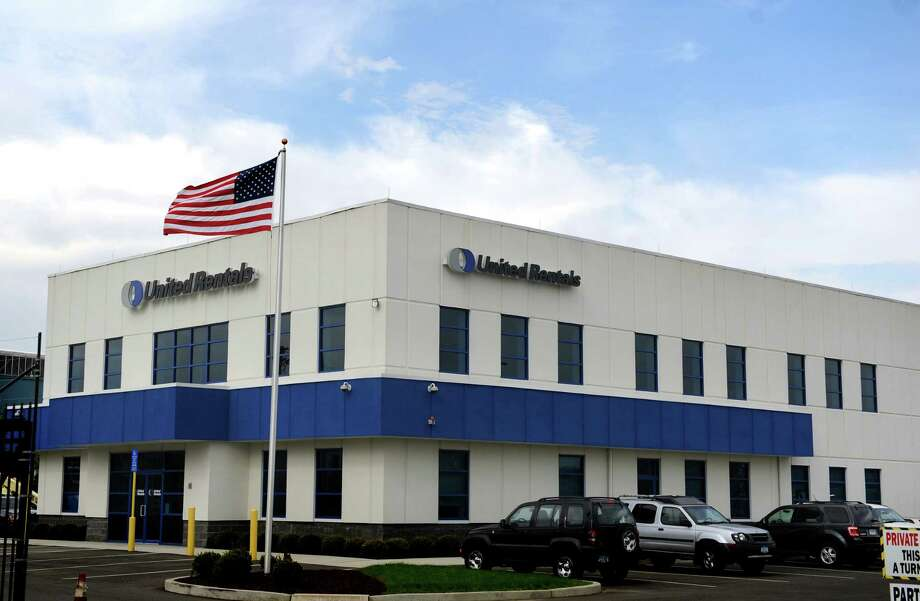 United Rentals has a location on Housatonic Ave. in Bridgeport. The Stamford-based company added seven new U.S. locations, including one in Beacon Falls, CT, and one in Canada. Photo: Autumn Driscoll / Connecticut Post