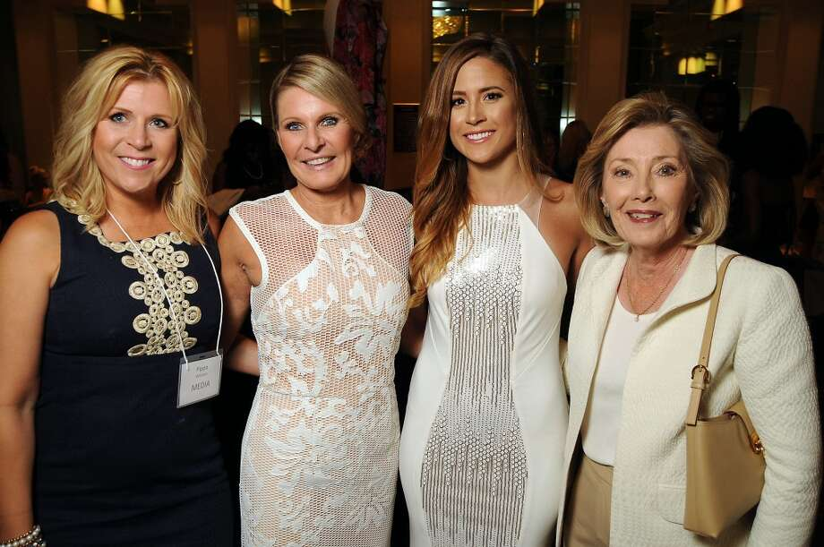 From left: Pippa Williams, Barbara Vaughn, Katy Jansa and Paula Paust Photo: Dave Rossman, For The Houston Chronicle