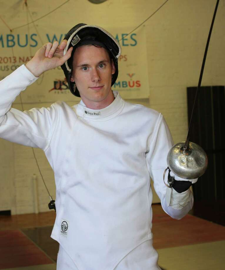 Sacred Heart graduate and Fairfield resident Justin Dion is seeking a berth on the U.S. Olympic fencing team in epee for the 2016 Summer Games in Brazil. He has been training at the U.S. Olympic Training Center in Colorado Springs, Colo., since August 2013. Photo: Contributed Photo / Fairfield Citizen