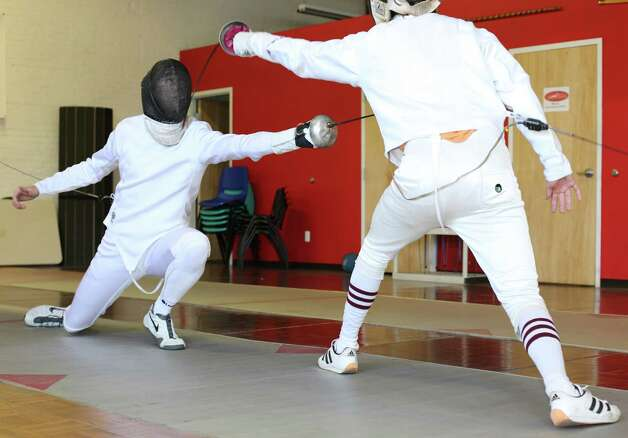 Epee fencer Dion has Olympic dreams - Fairfield Citizen