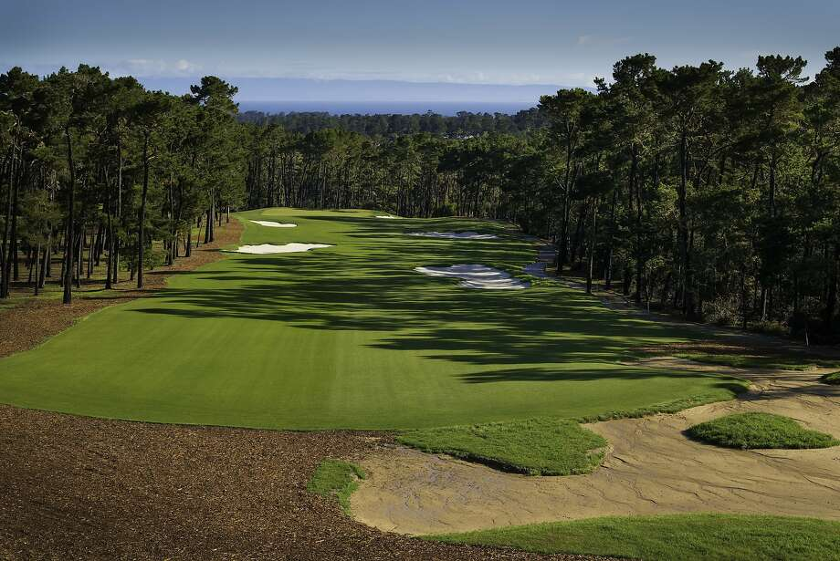 The new version of Poppy Hills has gentler doglegs, lots of sandy-waste areas and no rough. Photo: Photo Courtesy Terry VanderHeide