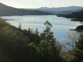 Whiskeytown Lake in the north state is the state's largest lake that is kept full even in drought years