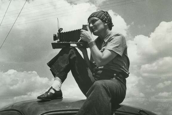 Dorothea Lange, 1937, as seen in ÒAmerican Masters Ð Dorothea Lange: Grab a Hunk of Lightning.Ó