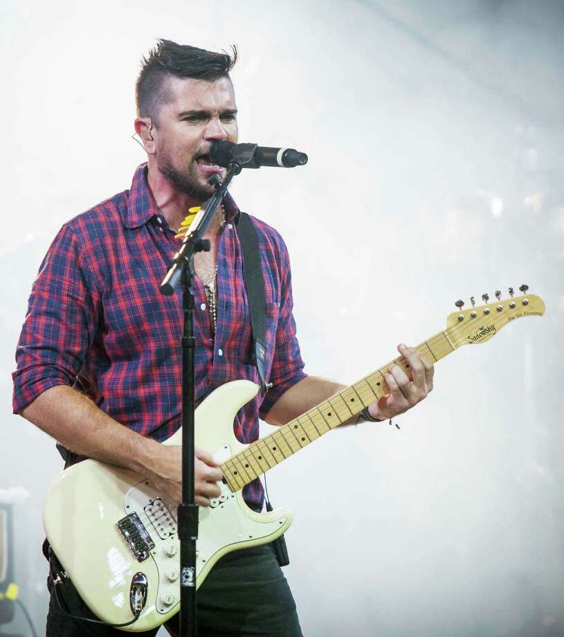 Colombian singer-songwriter Juanes will bring his socially conscious music to the Tobin Center for the Performing Arts on Oct. 2. Photo: Televisa / handout