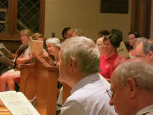 """September Sings,"" a casual community sing-along of Mozart's Requiem, will take place Sunday afternoon, Sept. 7, in Fairfield."