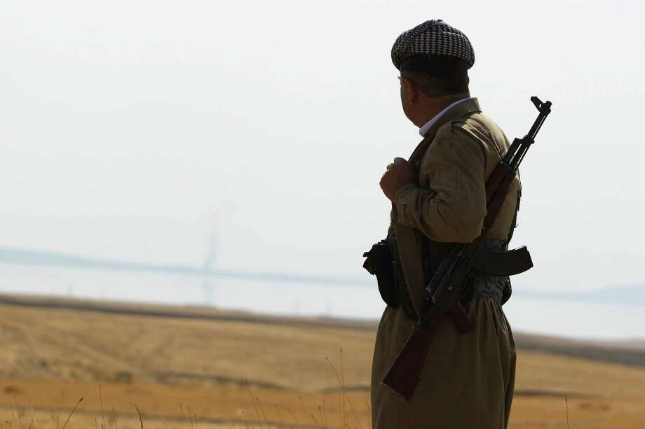 Kurdistan needs oil revenue to mobilize its peshmerga fighters in the battle against the Islamic State. (PHOTO: AHMAD AL-RUBAYE/AFP/Getty Images) Photo: AHMAD AL-RUBAYE, Staff / AFP